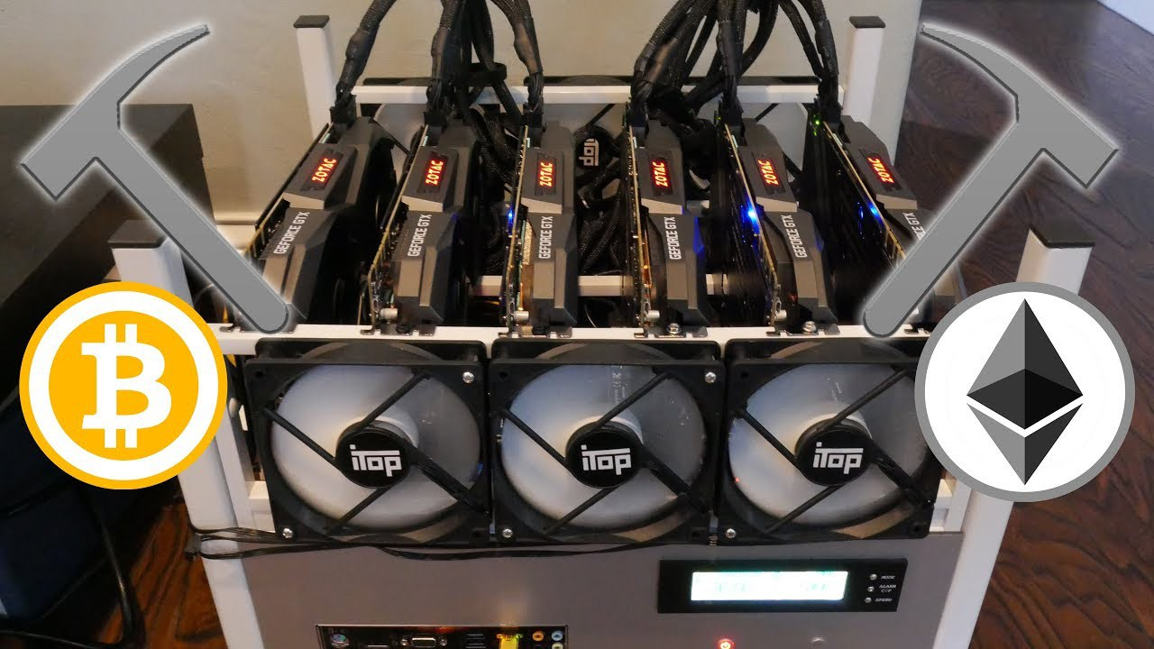 Former programmer of a prominent company uses the equipment to mine Bitcoins