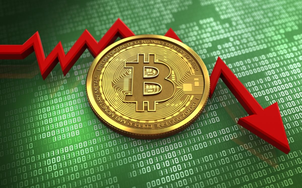 Bitcoin falls further down: reactions from the market