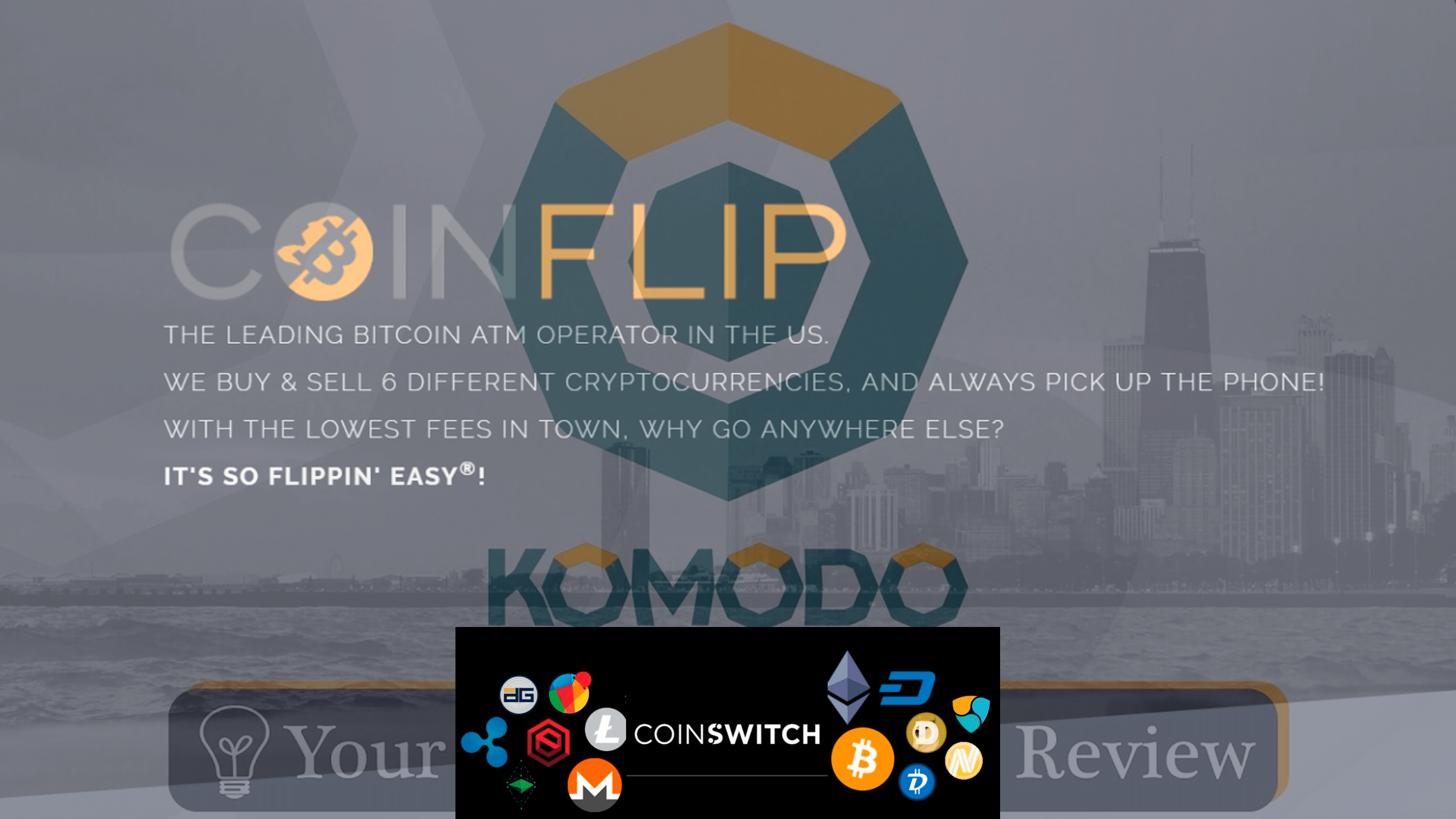 KMD gets listed on Coinflip and launches with the exchange of Coin switch