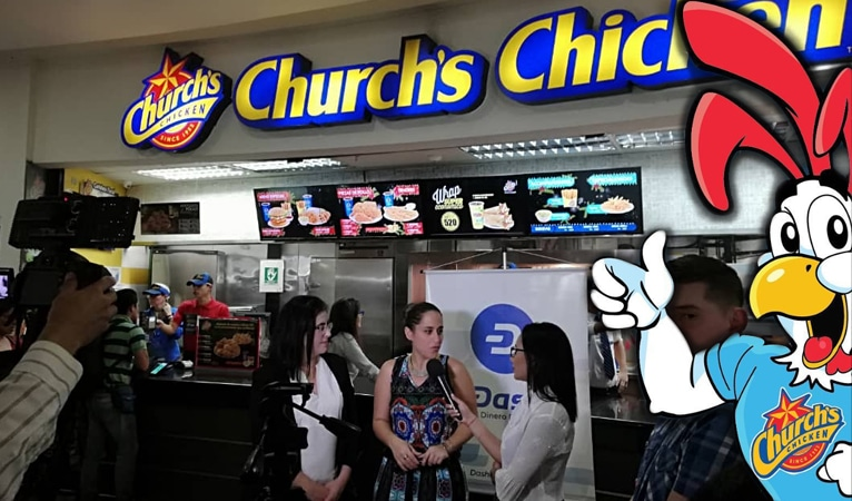 Church's Chicken Collaborates With Dash Venezuela To Accept Cryptocurrencies