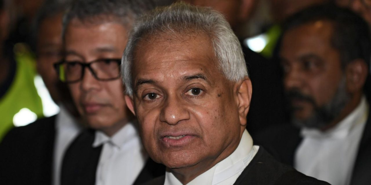 Malaysia's attorney general Tommy Thomas files criminal charges against Goldman Sachs International