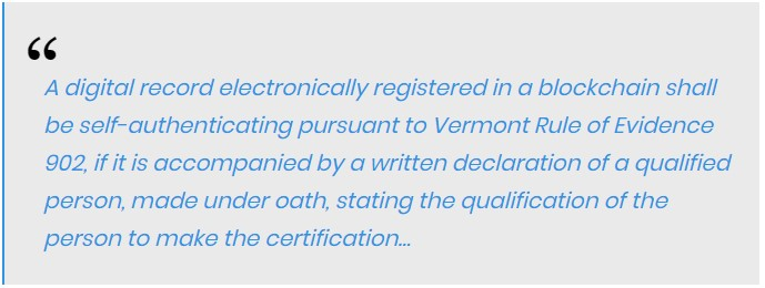 Vermont's Conduct of Trial rules