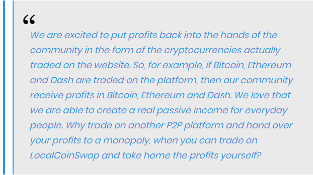 Daniel Worsley, COO, and Co-founder of LocalCoinSwap said