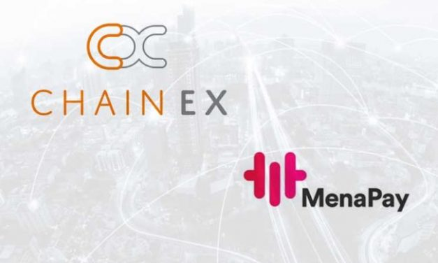 Chainex And MenaPay collaborates to povide The First Initial Exchange Offering