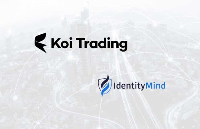 Koi Trading Crypto Exchange collaborates with IdentityMind for KYC Services