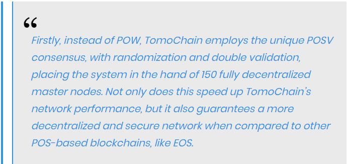 The team of Tomo team stated that