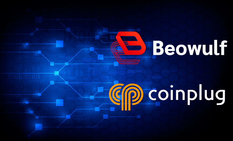 Beowulf Blockchain Network Collaborates With Coinplug Exchange for Global Expansion