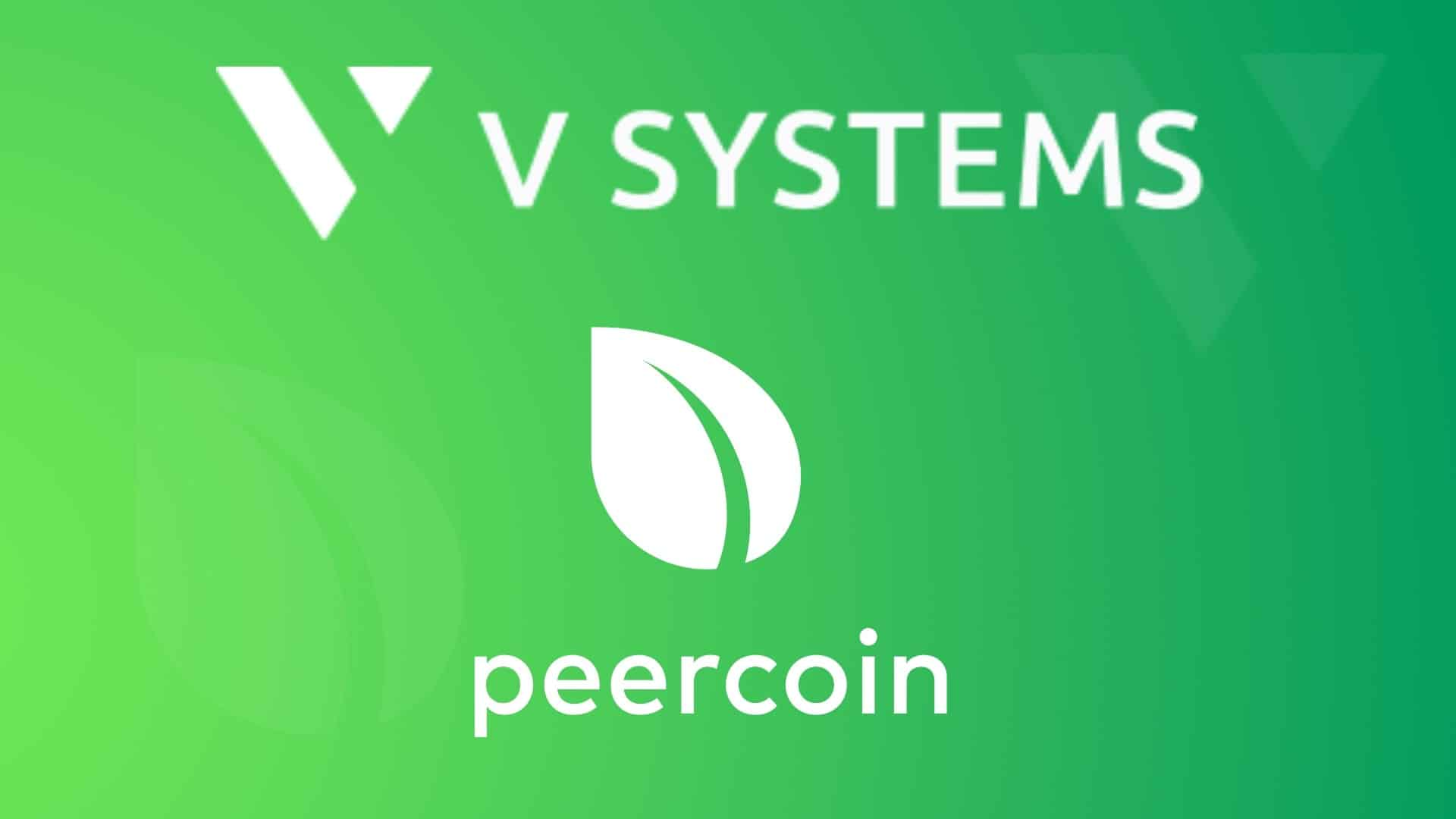 V SYSTEMS Mainnet Launched by Peercoin VPool