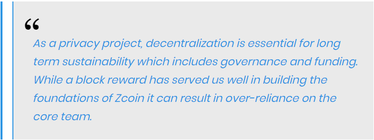 Reuben Yap, the project steward of Zcoin said
