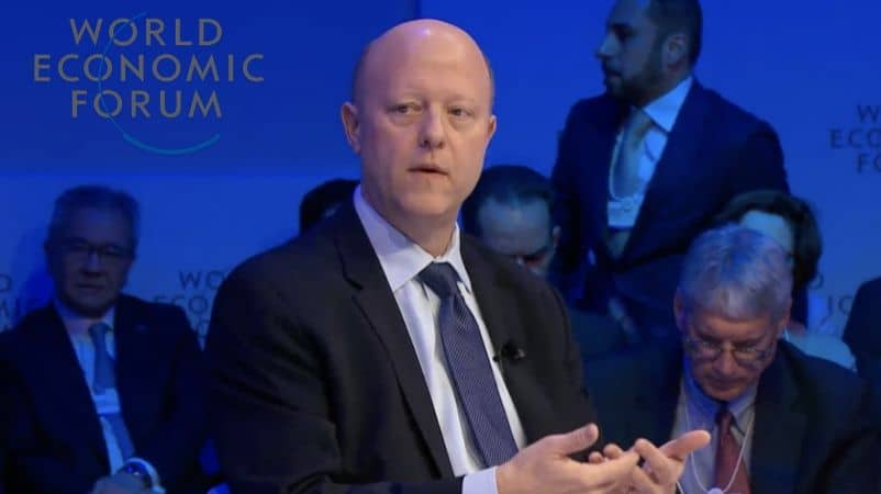 Circle CEO Jeremy Allaire speaks at WEF Meet,