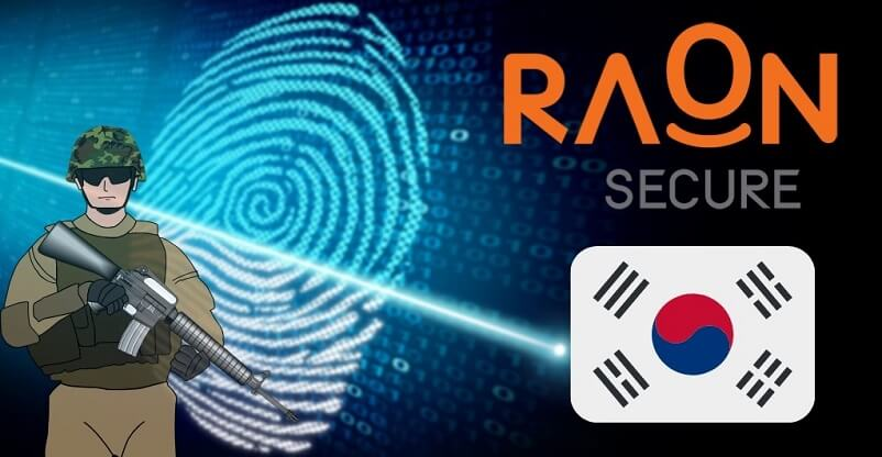 South Korean Military Partners With Raonsecure