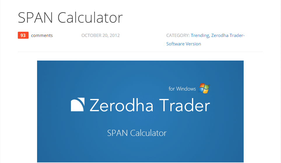 Zerodha Reviews - Zerodha Tools