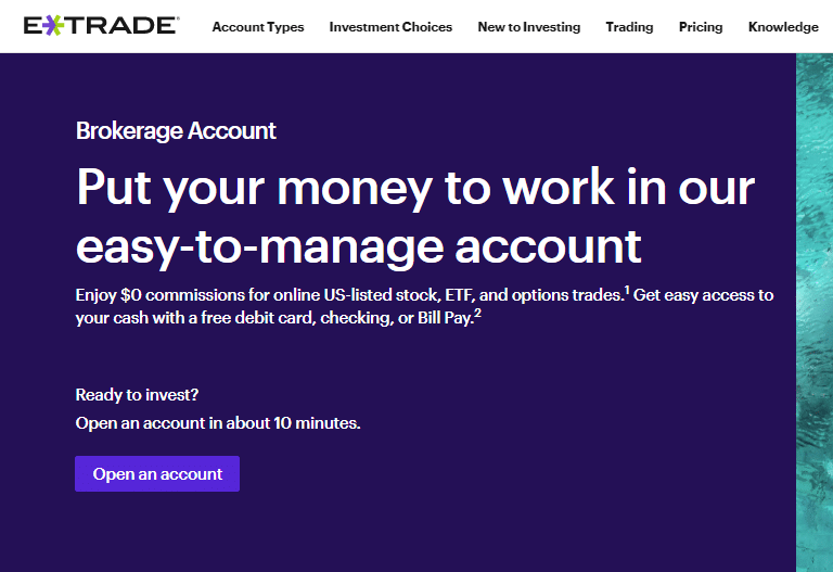 E-Trade Review - Put Your Money To Work