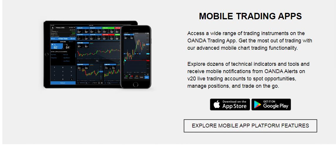 Oanda Reviews - Mobile App