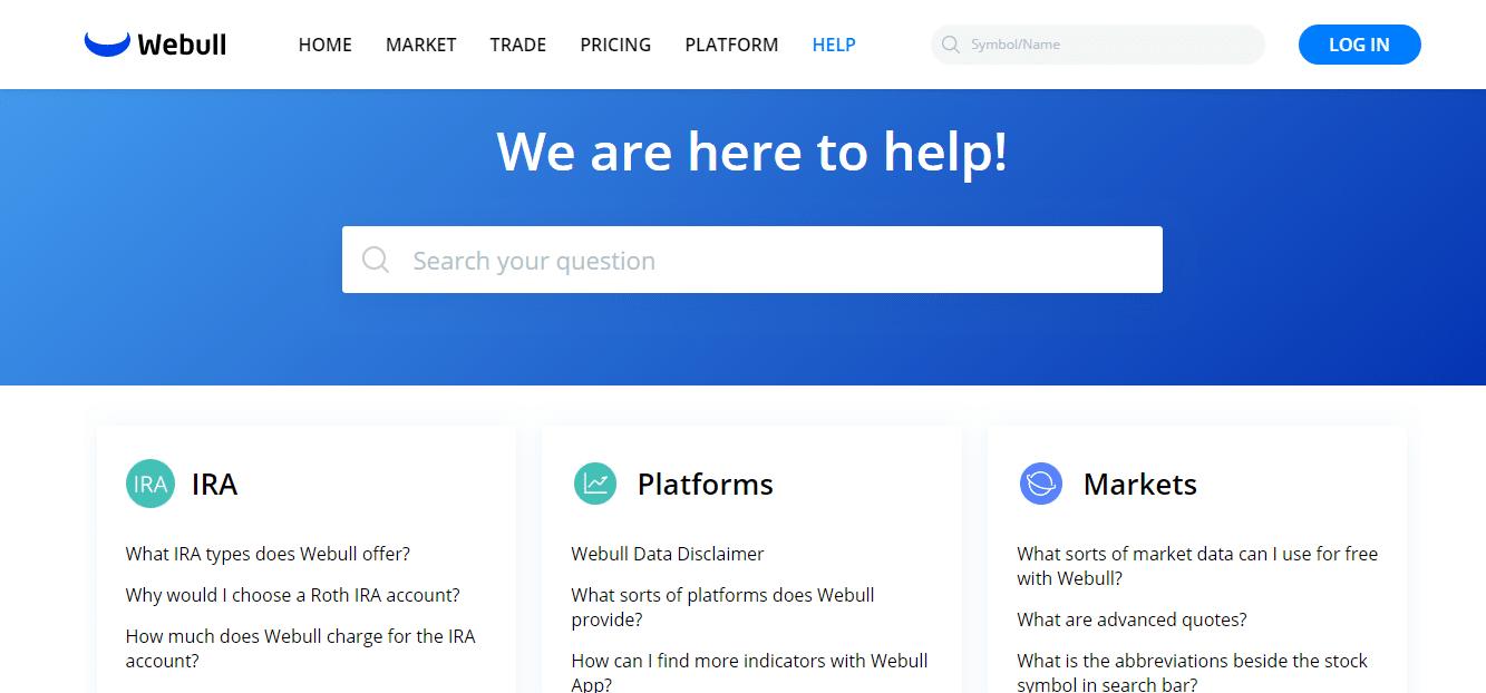 Webull Reviews - Customer Support