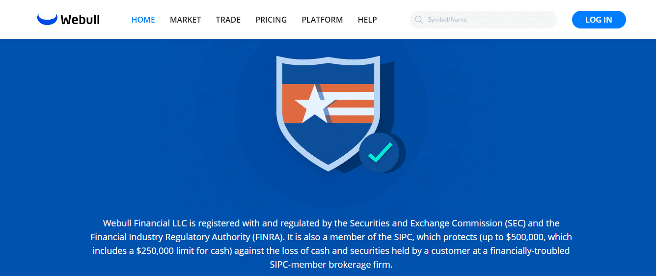 Webull Review - Security