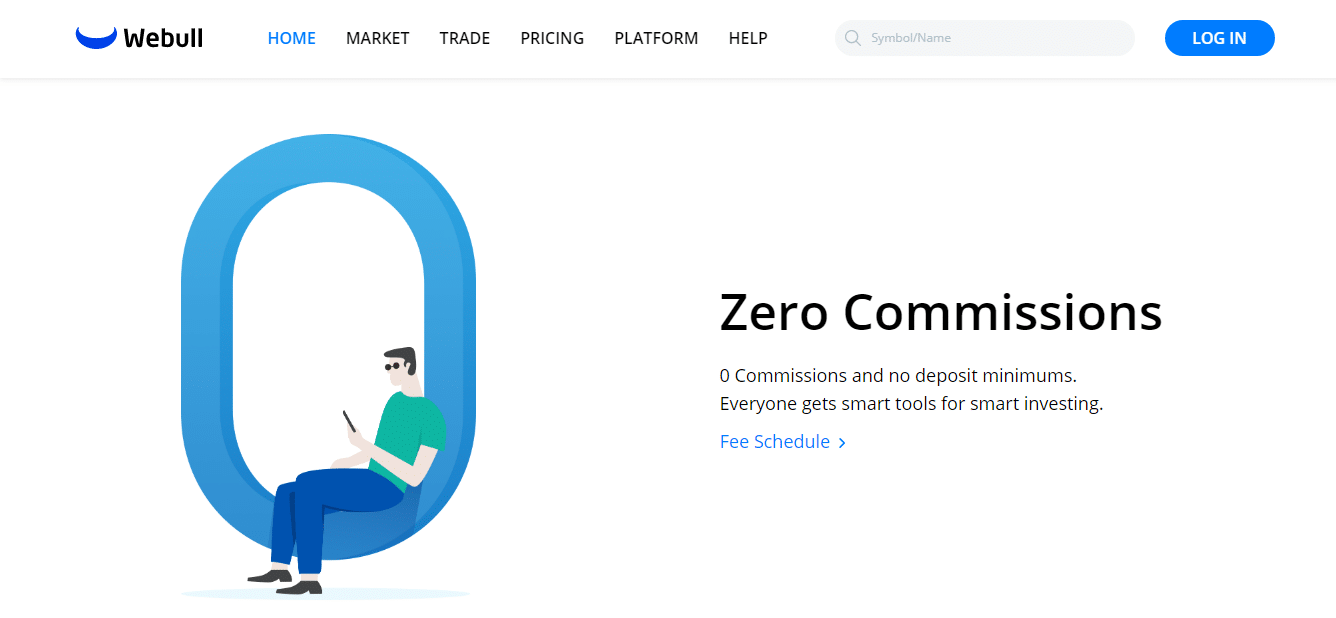 Webull Review - Zero Commissions
