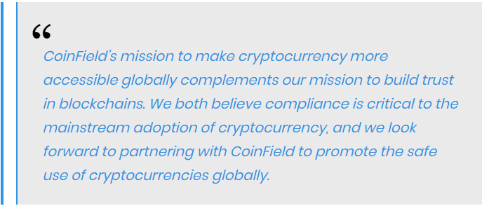 Jason Bonds, Chief Revenue Officer of Chainalysis, stated that