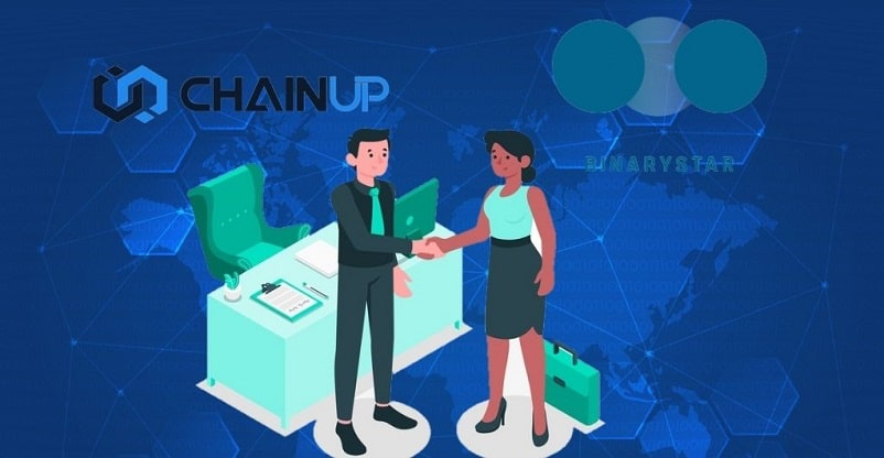 BINARYSTAR Partners With ChainUP