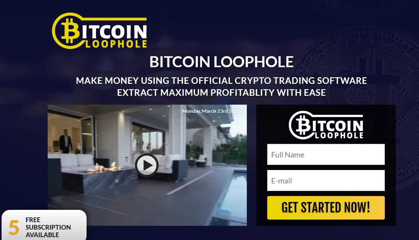 Bitcoin Loophole Review – The Best Auto trading Platform