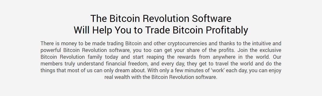 Bitcoin Revolution Review – About Bitcoin Revolution Software