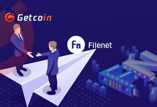 Filenet Partners with Singapore's Leading Getcoin Exchange