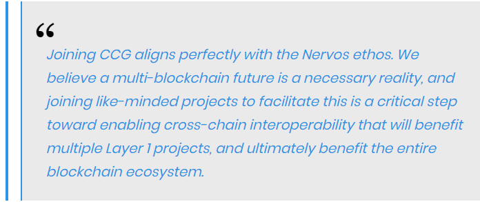 Kevin Wang, co-founder of Nervos, stated