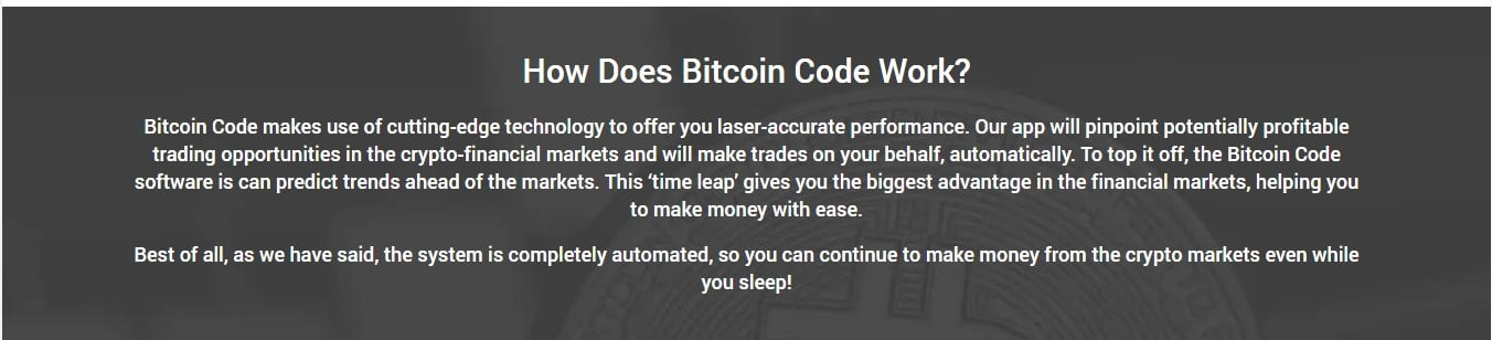 Bitcoin Code Review – How to get started on Bitcoin Code trading platform?
