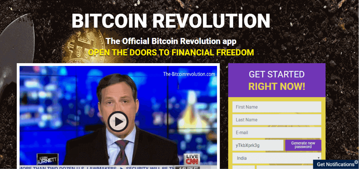 the bitcoin revolution trading software