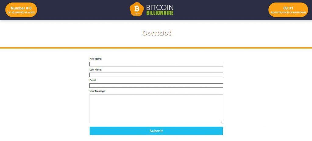 Bitcoin Billionaire Reviews – Customer Support