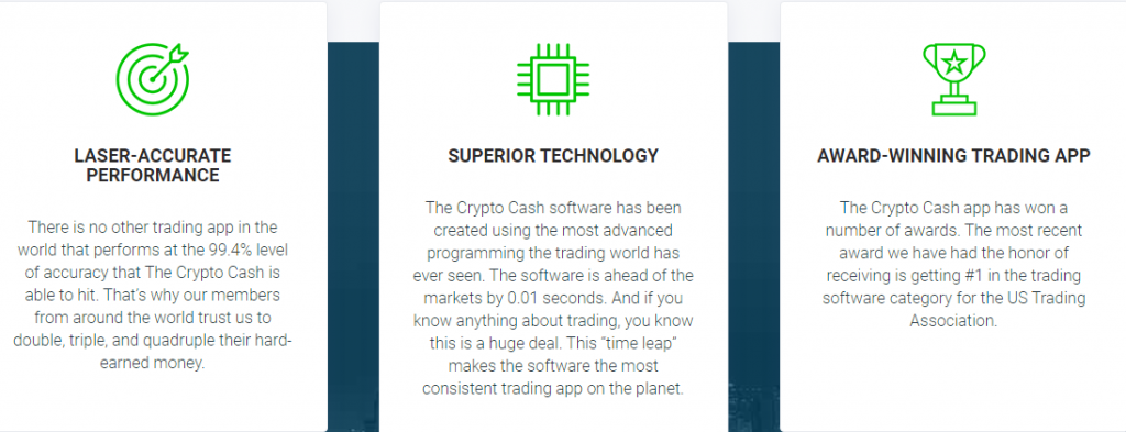 Crypto Cash Reviews – Advantages