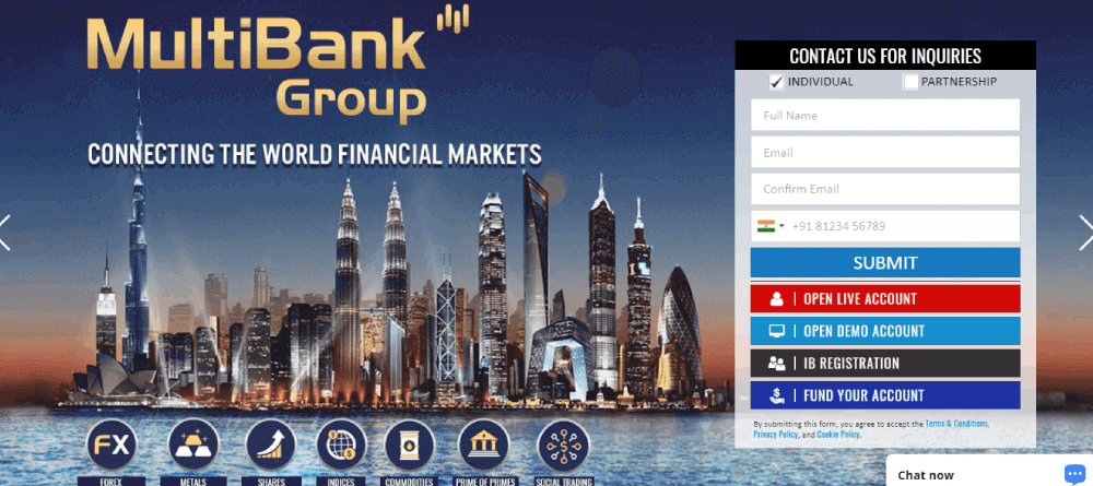 Multi Bank Review – Connect with Financial Market