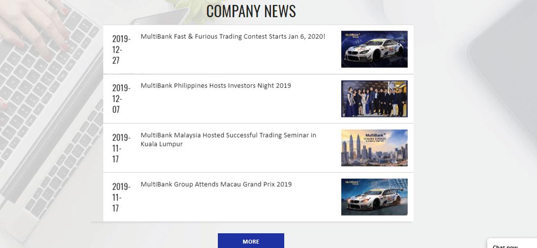MultiBank Reviews – Company Updates