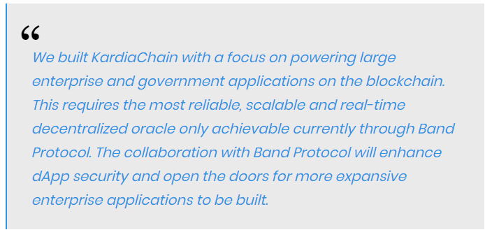 Tri Pham, CEO and Co-founder of KardiaChain quoted