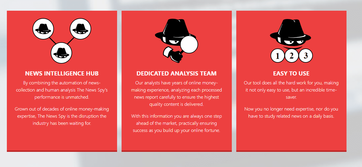 Benefits of using The News Spy