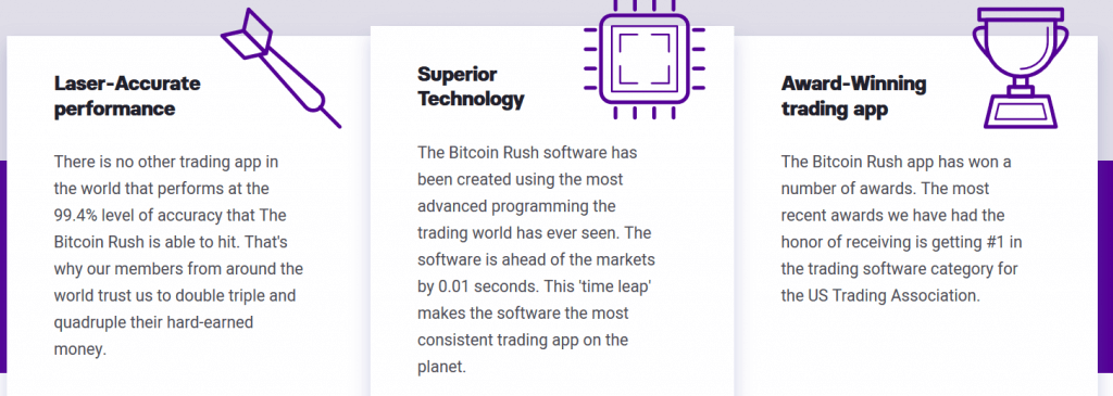 Review on Bitcoin Rush Features