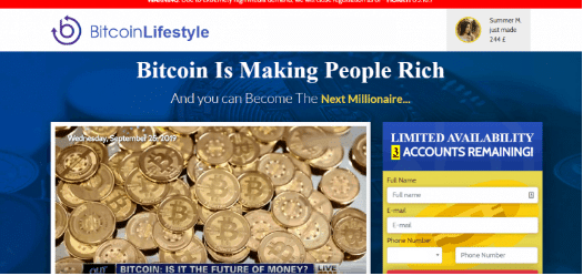 Bitcoin Lifestyle Reviews – Registration Process of Bitcoin Lifestyle