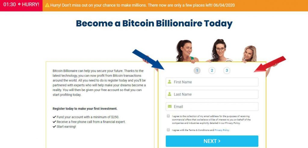 Bitcoin Billionaire Reviews – Open New Account