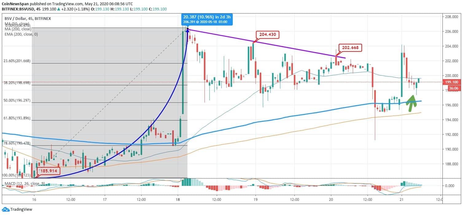 Bitcoin SV (BSV) Price News