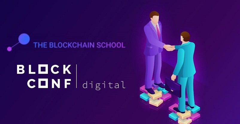 The Blockchain School Partners with BlockConf.Digital