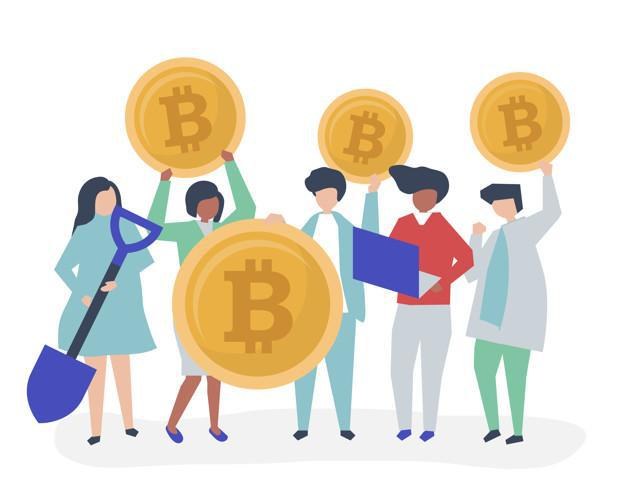 Access Cryptocurrencies through Mining