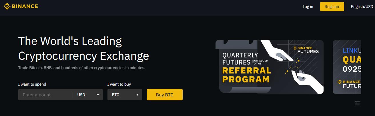 Binance - Leading cryptocurrency exchange