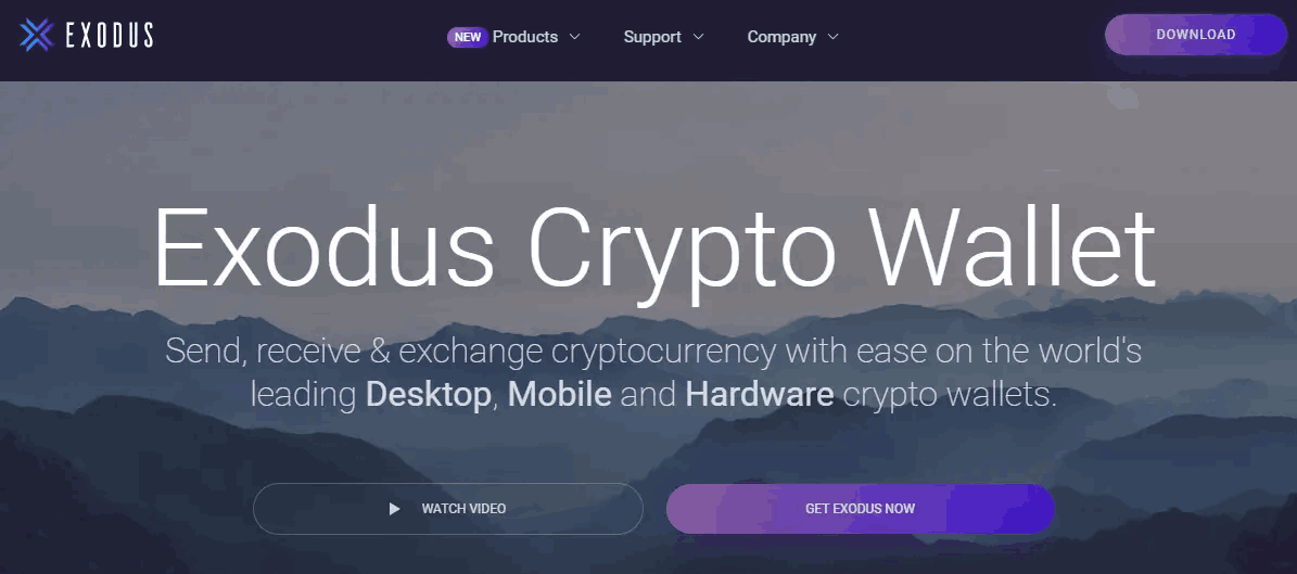 Exodus - The best bitcoin wallets
