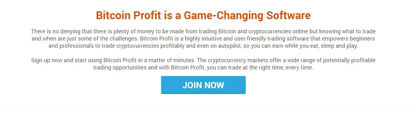 About Bitcoin Profit Software