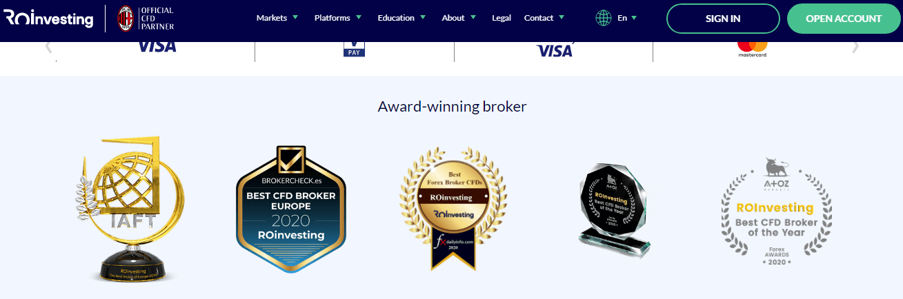 ROinvesting Reviews - Awards Received
