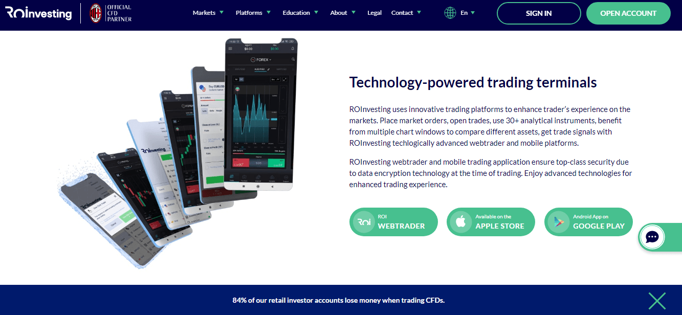 ROinvesting Reviews - Mobile Platform